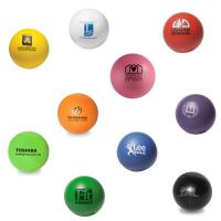 Round Color Stress Ball - 1 Color 1 Location