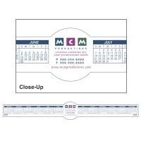 Circle Removable Adhesive Computer Calendar - 4ML Thickness
