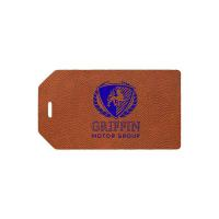 Oversize Luggage Tag - Translucent - 1 Color 1 Location