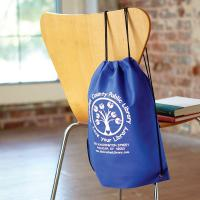 Non Woven Drawstring Backpack - 1 Color 1 Location