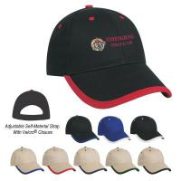 Price Buster Cap With Visor Trim - Embroidered