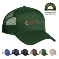 5 Panel Mesh Back Price Buster Cap - Silk-Screen