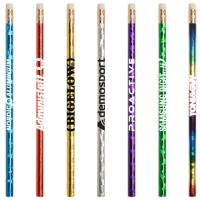 Jo-Bee Prismatic Foil Wrap Pencil