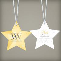 Holiday Star Seed Paper Ornament