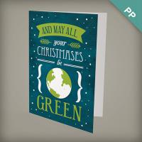 A6 Seed Paper Eco Christmas Cards With Shapes - All Your Christmases