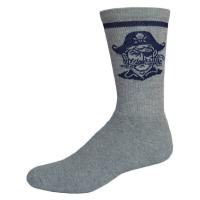 Colored Full Cushion Crew Sock with Knit-In Logo