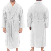 "Fleece Robe, 50""L, North American Made, Blank"