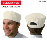 Color Pillbox Chef Hat, Blank