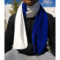 Fleece 2-Tone Scarf, Blank