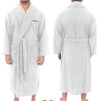 "Fleece Robe, 50""L, North American Made, Embroidered"
