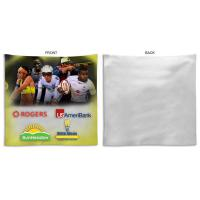 Fleece Fan Towel, 10x10, Sublimated