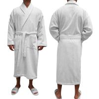 "Turkish Terry Bathrobe, 50""L, Blank"