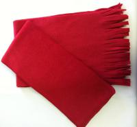 "9.5"" x 60"" Fleece Scarf Fringed"